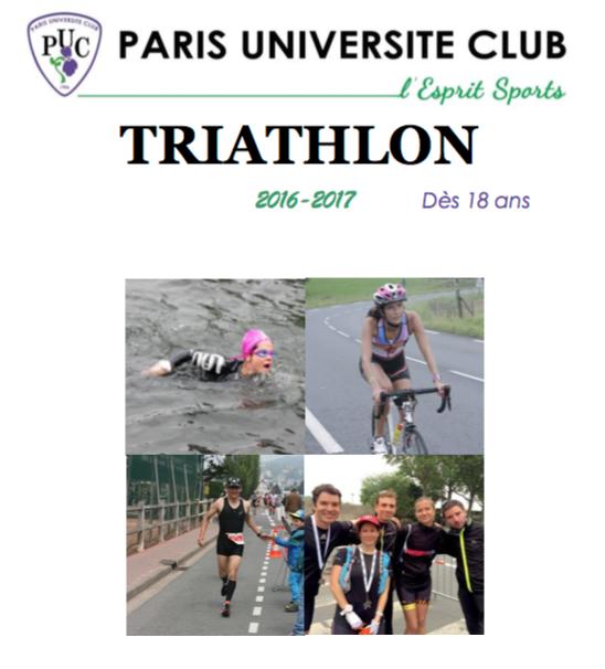 PUC triathlon